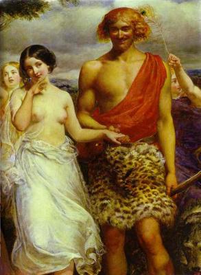 Simon and Iphigenia. Fragment