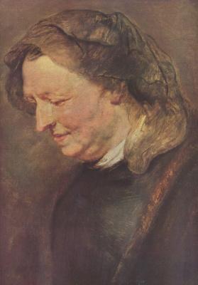Peter Paul Rubens. Portrait of an elderly woman