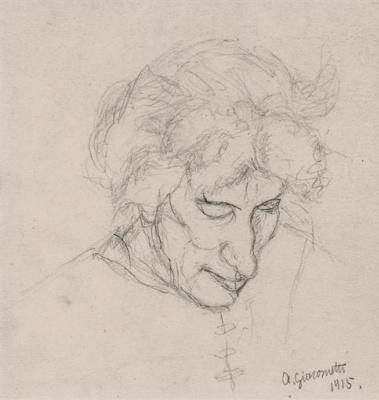 Альберто Джакометти. Портрет матери художника