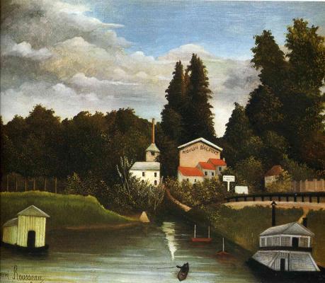 Henri Rousseau. Mill in Altre