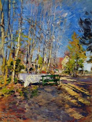 Константин Алексеевич Коровин. Весна