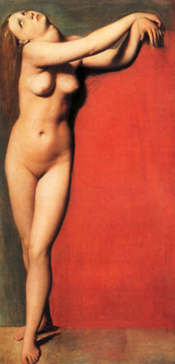 Jean Auguste Dominique Ingres. Naked girl