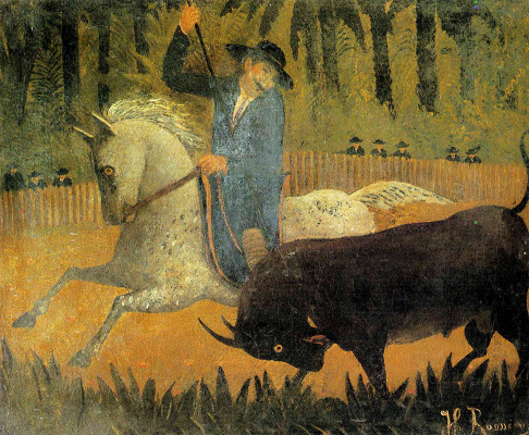 Henri Rousseau. The Mexican picador