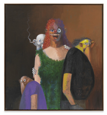George Condo. Family reunification