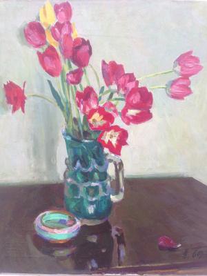 Николай Бортников. Тюльпаны