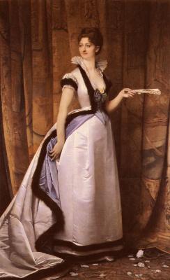 Jules Joseph Lefebvre. Female portrait