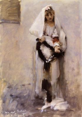 John Singer Sargent. The Paris beggar