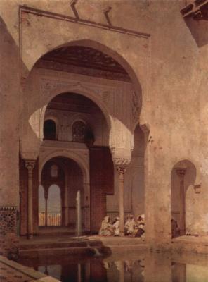 Адольф Зель. Альгамбра