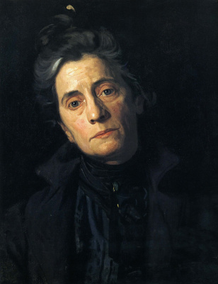 Thomas Eakins. Portrait of Mrs. Thomas Eakins