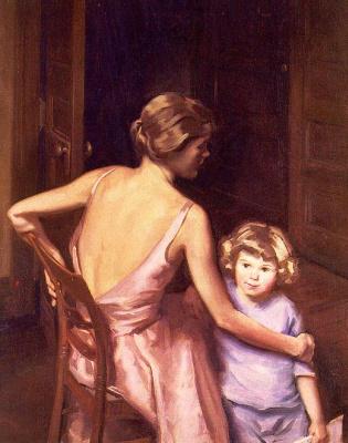 П Дикинсон. Мать с ребенком