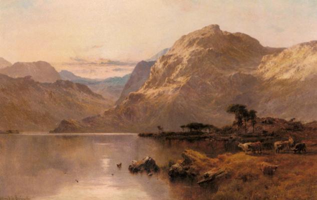 Альфред де Бреански. Северный Уэльс