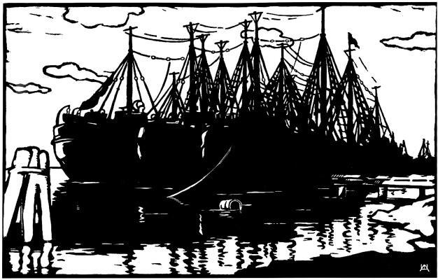 Адольф Александрович Шевченко. SRT at the pier