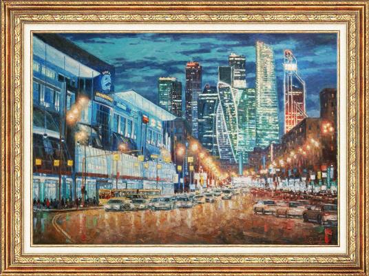 Igor Razzhivin. Blues night city