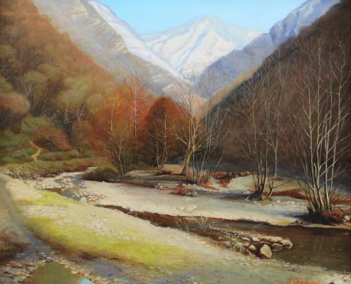 Gennady Shotovich Bartsits. Joekvar Gorge, Abkhazia