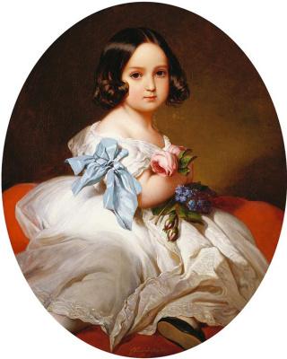 Franz Xaver Winterhalter. Princess Maria Charlotte Belgian