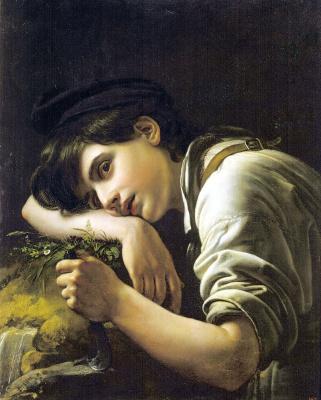 Orest Adamovich Kiprensky. Young gardener