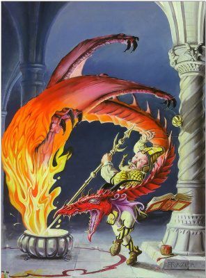Дэн Фрейзер. Ярость дракона