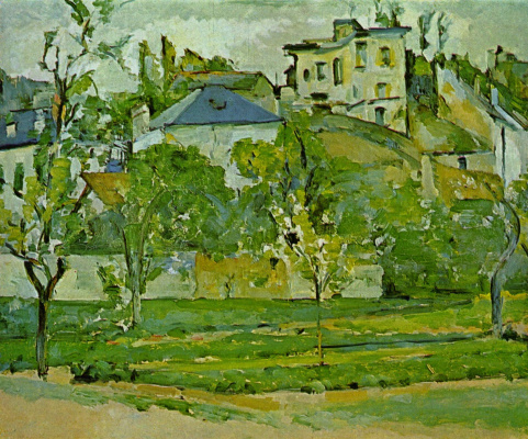 Paul Cezanne. Fruit garden in PONTOISE