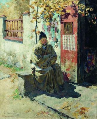 Sergey Arsenievich Vinogradov. At the chapel