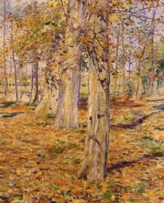 Курода Сейки. Опавшие листья