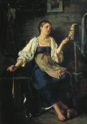 Firs Sergeevich Zhuravlev. Spinner. Odessa Art Museum