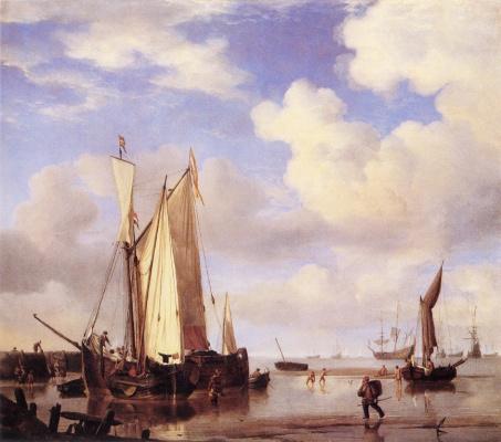 Виллем ван де Вельде Младший. Сюжет 9