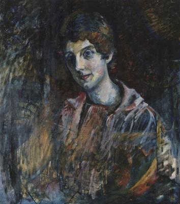 Portrait of Nina Nikolaevna Kandinsky, the artist's wife