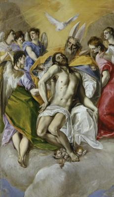 Эль Греко (Доменико Теотокопули). Святая Троица