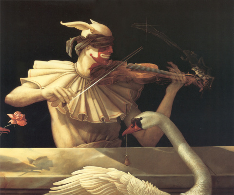 Michael Parkes. The music of water