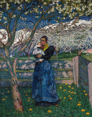 Giovanni Giacometti. Flowering