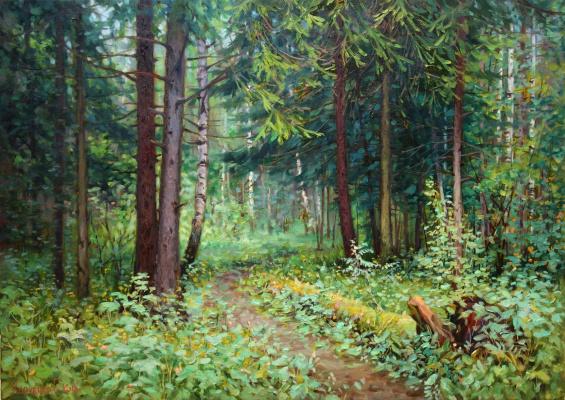 Георгий Харченко. Лето в лесу