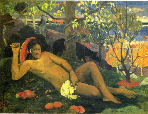 Paul Gauguin. The wife of the king
