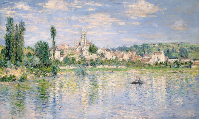 Claude Monet. Vétheuil in summer