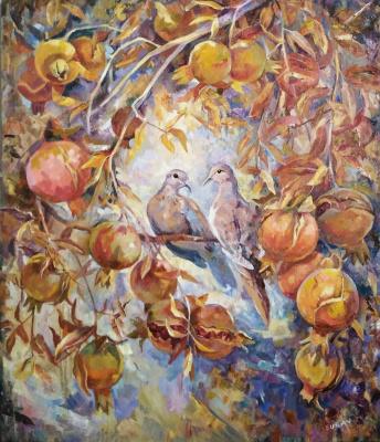 Suray Muradovna Akmuradova. The garden of Eden