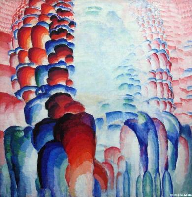Frantisek Kupka. Hindu motif