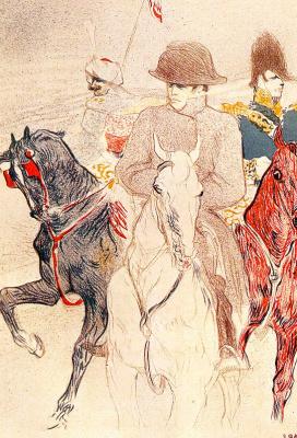 Henri de Toulouse-Lautrec. Napoleon Bonaparte