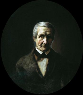 Павел Петрович Чистяков. Портрет отца