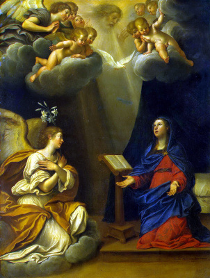 Francesco Albani. The Annunciation