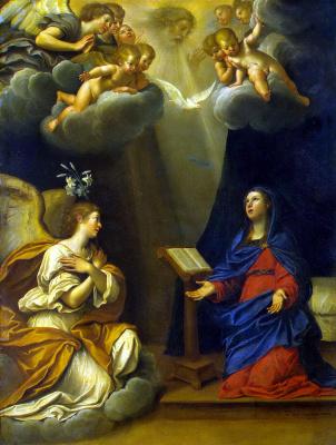 Francesco Albani. The Annunciation