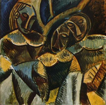 Pablo Picasso. Three figures under a tree
