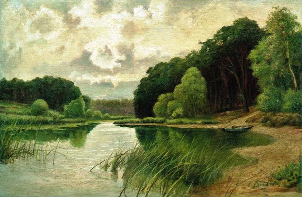 Efim Efimovich Volkov. Forest river