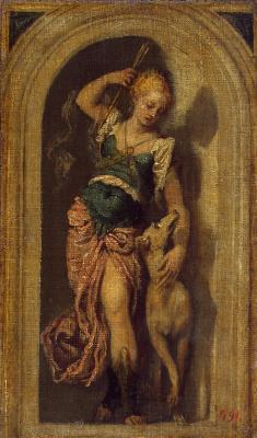 Paolo Veronese. Diana. Sketch