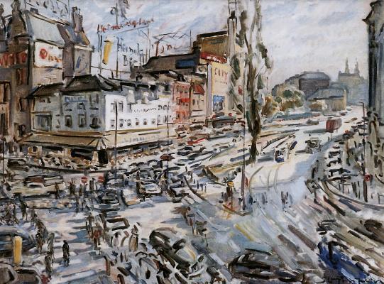 Ян Слёйтерс. Улица