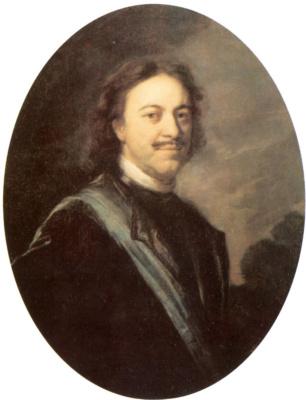Andrey Matveyevich Matveyev. Portrait Of Peter I