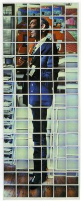 David Hockney. Patrick Proctor, Studio, Pembroke, London, 7 may 1982