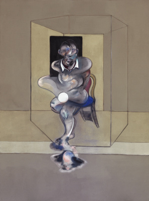 Francis Bacon. Sketch for self-portrait