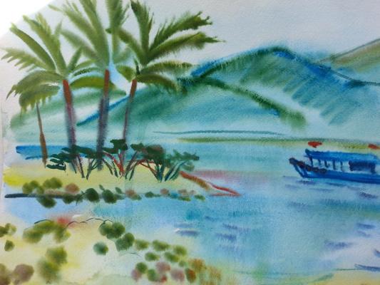 "Natalia Gennadievna Torlopova. Series ""tropical island"" 8"