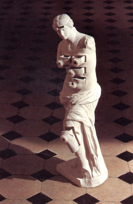 Salvador Dali. Venus de Milo with drawers