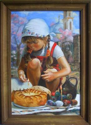 Alexander Giza-Ciobanu. Easter