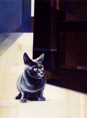 Моника Озамиз Фортис. Кот у двери